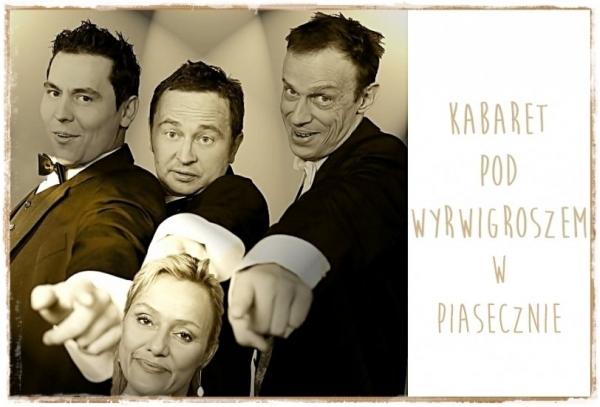 Kabaret Pod Wyrwigroszem w Piasecznie