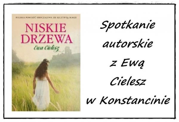 Spotkanie autorskie z Ewą Cielesz w Konstancinie