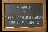 DNI OTWARTE w szkołach ponadgimnazjalnych Powiatu Piaseczyńskiego