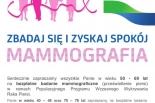 Bezpłatne badanie mammograficzne w Lesznowoli