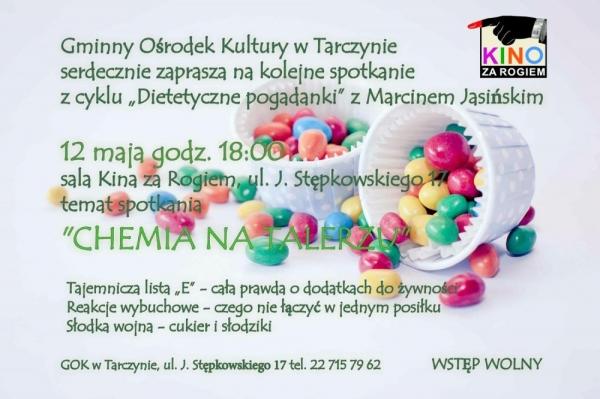Dietetyczne pogadanki z Marcinem Jasińskim w Tarczynie