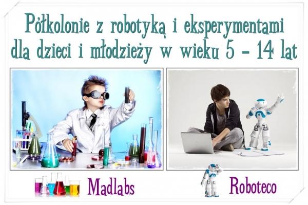 Półkolonie z robotyką i eksperymentami dla dzieci i młodzieży