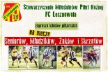 FC LESZNOWOLA ZAPRASZA NA WEEKEND Z PIŁKĄ NOŻNĄ