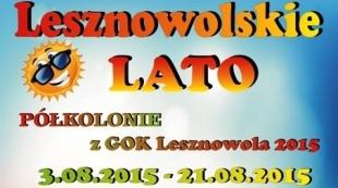 Zapisy na Półkolonie z GOK Lesznowola