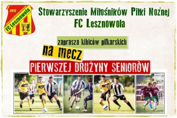 Piłkarska sobota z FC Lesznowla