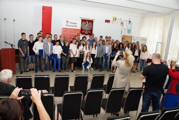 Nagrody Powiatu Piaseczyńskiego dla młodych sportowców za rok 2014
