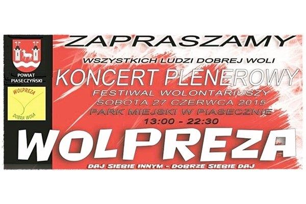 IV Wolpreza Dobrej Woli - Festiwal Wolontariuszy