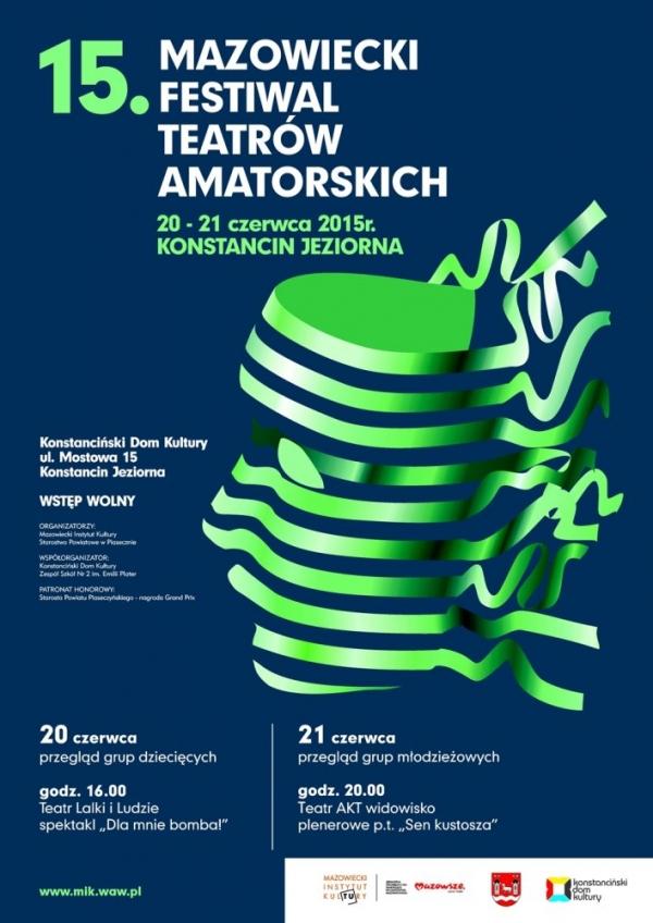 15. Mazowiecki Festiwal Teatrów Amatorskich