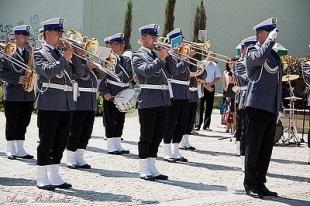 Koncert orkiestry policyjnej w Piasecznie