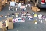 Zabezpieczono kosmetyki w Wólce Kosowskiej