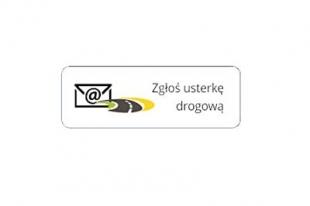 Zgłaszanie usterkek/ubytków w nawierzchni i oznakowaniu dróg powiatowych