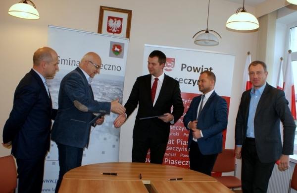 Porozumienie w sprawie rewitalizacji Parku Miejskiego w Piasecznie