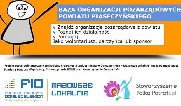 Baza organizacji pozarządowych