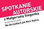 Spotkanie autorskie z Małgorzatą Stegenką w KDK