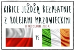 Kibice jeżdżą bezpłatnie z Kolejami Mazowieckimi