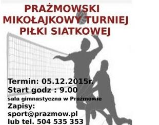 Prażmowski Mikołajkowy Turniej Piłki Siatkowej