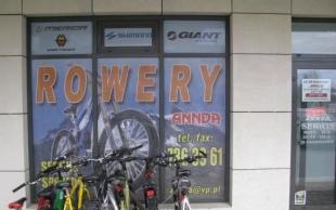 Sklep i serwis rowerowy Annda