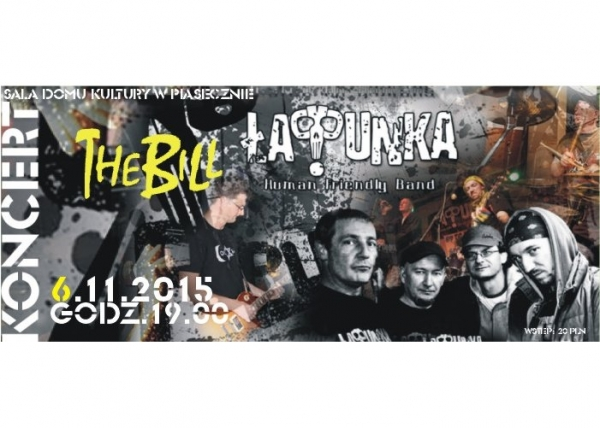 Koncert THE BILL i Łap!Punka