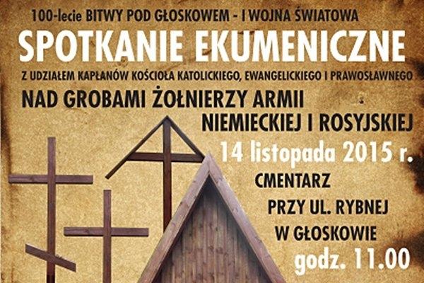 Spotkanie ekumeniczne na cmentarzu wojennym