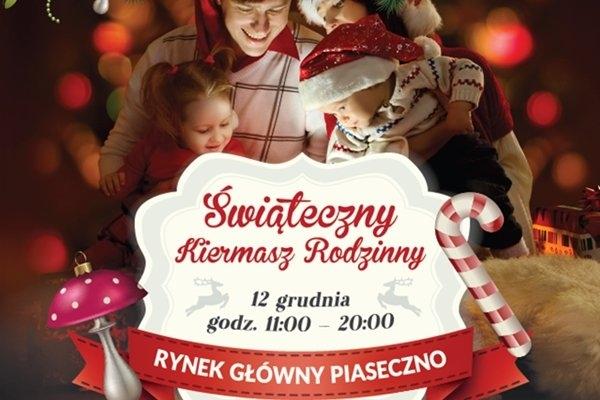 Świąteczny Kiermasz Rodzinny w Piasecznie