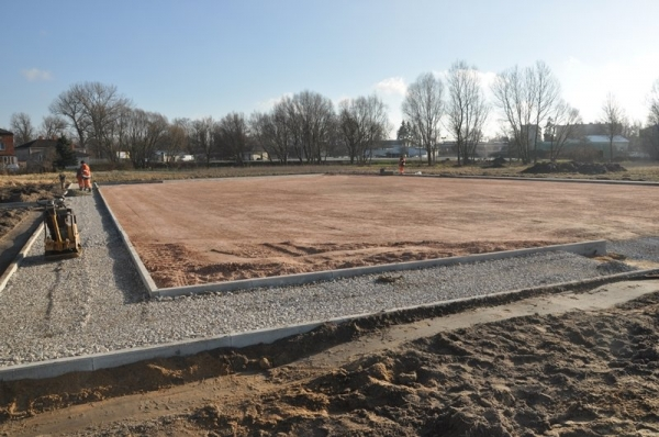 Budowa boiska  i skateparku w gminie Tarczyn