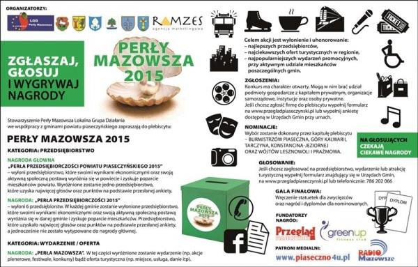 Perły Mazowsza 2015