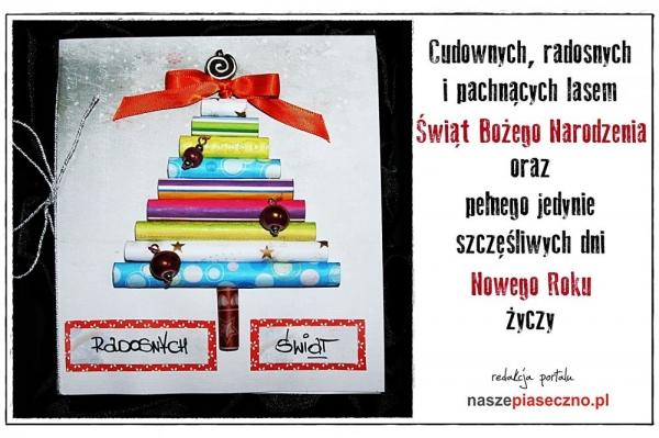 Z życzeniami Wesołych Świąt