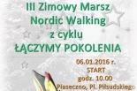 III Zimowy Marsz Nordic Walking z cyklu Łączymy Pokolenia