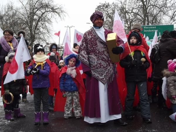 Relacja z Orszaku Trzech Króli w Piasecznie