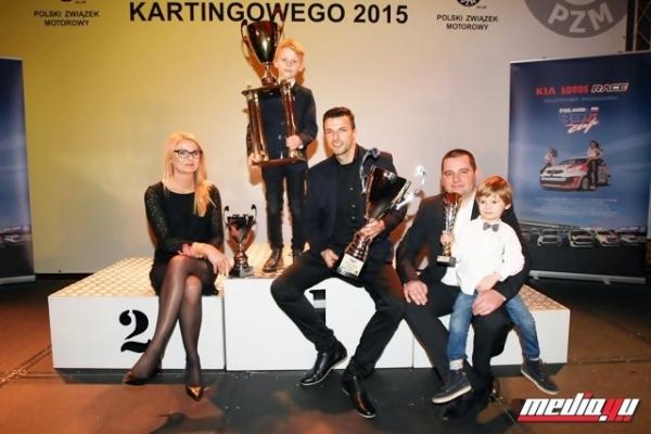 Ośmiolatek z Piaseczna kilkukrotnie utytułowany na Gali Polskiego Związku Motorowego