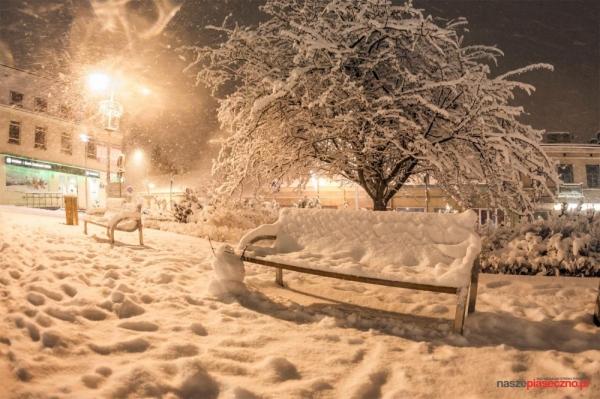 Zimowe utrzymanie dróg w gminie Piaseczno