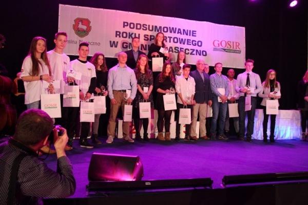 Podsumowanie roku sportowego 2015 Gminy Piaseczno