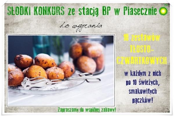 SŁODKI KONKURS ze stacją BP w Piasecznie