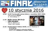 XXIV Koncert Finałowy Wielkiej Orkiestry Świątecznej Pomocy 2016 w Konstancinie