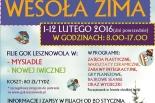 Ferie 2016 - AKCJA ZIMA w Lesznowoli