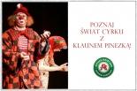Poznaj świat cyrku z klaunem Pinezką!