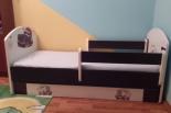 Sprzedam łóżko dziecięce 70x140 + materac 5w1