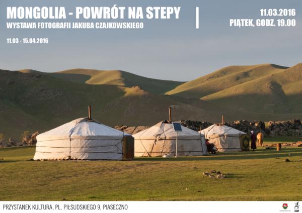 Mongolia – wystawa fotografii w Piasecznie