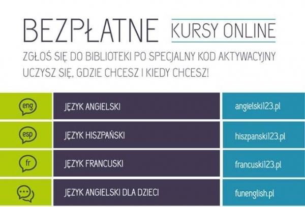Bezpłatne kursy on line w Piasecznie