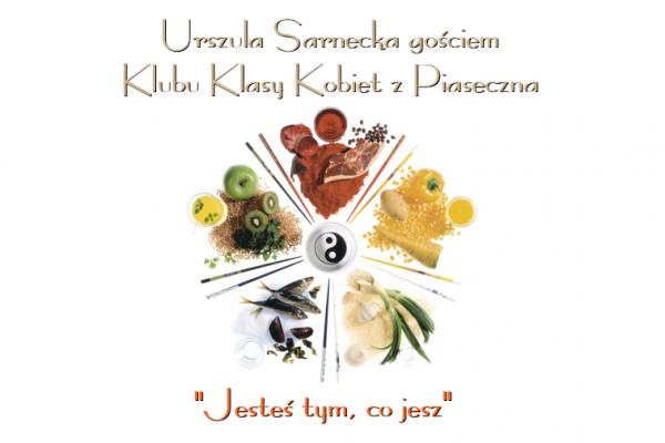 Urszula Sarnecka gościem Klubu Klasy Kobiet z Piaseczna