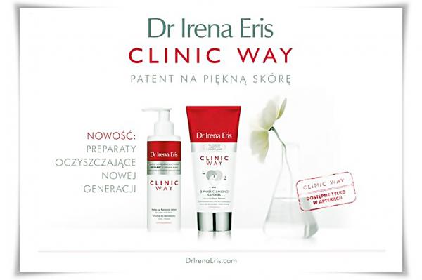 Dr Irena Eris CLINIC WAY - OCZYSZCZANIE NOWEJ GENERACJI