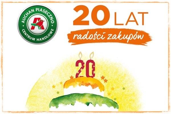 Świętuj z nami urodziny! Moc atrakcji czeka w maju w Centrum Handlowym Auchan Piaseczno