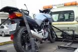 Po pościgu odzyskano skradziony motocykl