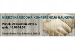 Międzynarodowa Konferencja Naukowa w Górze Kalwarii