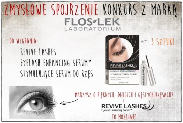 Zmysłowe spojrzenie – konkurs z Laboratoriami Kosmetycznymi FLOSLEK