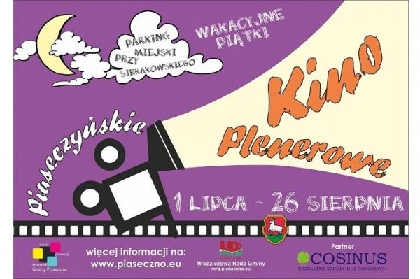 Wakacyjne kino plenerowe w Piasecznie