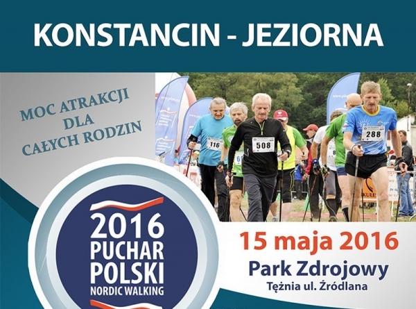Puchar Polski Nordic Walking w Konstancinie-Jeziornie
