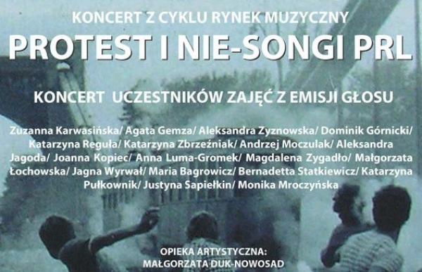Protest i Nie - Songi PRL-u w ramach Rynku Muzycznego