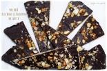 Mazurek orzechowo-czekoladowy na waflu
