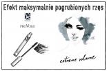 Efekt maksymalnie pogrubionych rzęs z Dr Irena Eris PROVOKE EXTREME VOLUME MASCARA